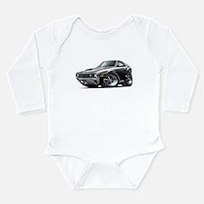 1970 AMX Black-White Car Long Sleeve Infant Bodysu