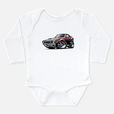 1970 AMX Black-Red Car Long Sleeve Infant Bodysuit