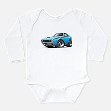 AMX Big Bad Blue-Black Car Long Sleeve Infant Body