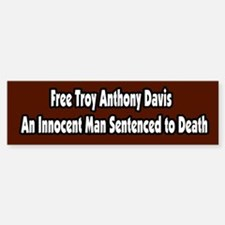 Free Troy Anthony Davis Bumper Bumper Sticker