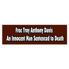 Free Troy Anthony Davis Bumper Sticker