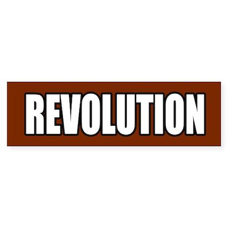 Revolution Sticker (Bumper)