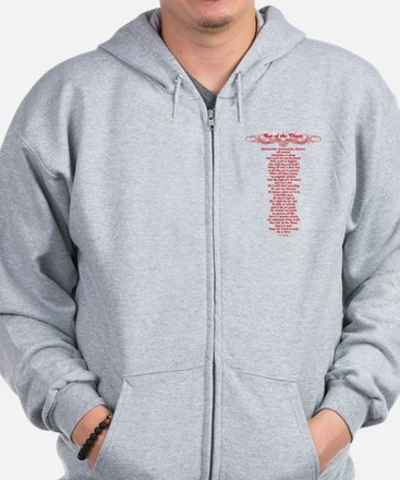 Out of the Chaos Zip Hoodie
