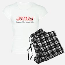 Autism Not Like U Think Pajamas