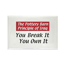 Pottery Barn Principle Rectangle Magnet