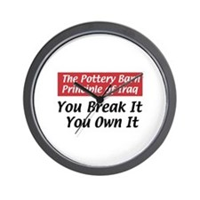 Pottery Barn Principle Wall Clock