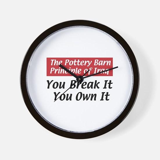 Pottery Barn Principle Wall Clock