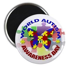 World Autism AWARENESS Day Magnet
