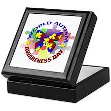 World Autism AWARENESS Day Keepsake Box