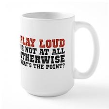 Play Loud Ceramic Mugs