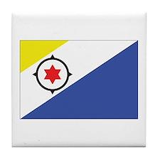 Bonaire Flag Tile Coaster
