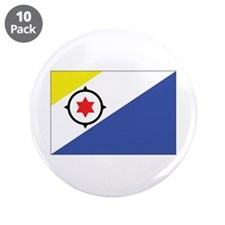 "Bonaire Flag 3.5"" Button (10 pack)"