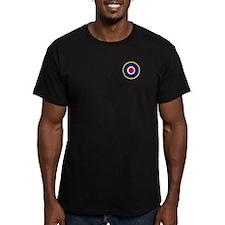 RAF Men's Fitted T-Shirt (Dark)