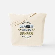 Daughter Sentiments Tote Bag