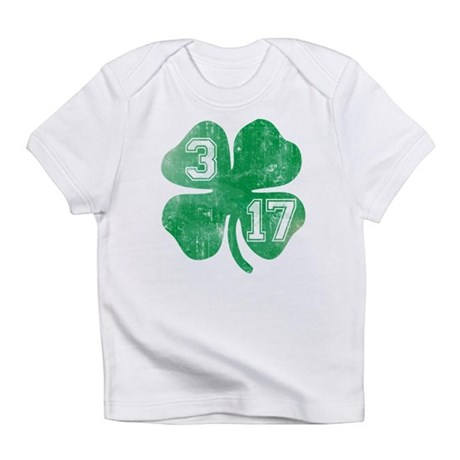 St Patricks Day 3/17 Shamrock Infant T-Shirt
