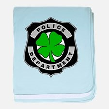 Irish Police Officers baby blanket