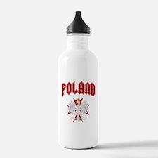 Poland Eagle Cross Water Bottle