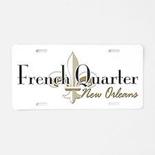 French Quarter New Orleans Aluminum License Plate