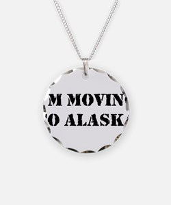 Moving to Alaska Necklace