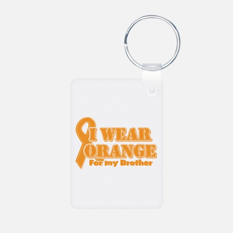 I wear orange brother Keychains