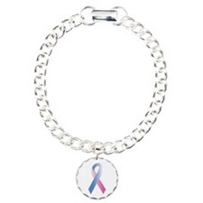 Pink Blue Awareness Bracelet