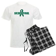 Green Ribbon Survivor pajamas