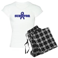 Purple Ribbon Survivor Pajamas