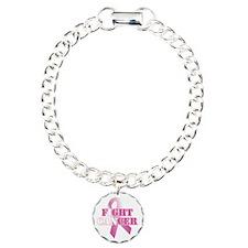 I can fight cancer pink rs Bracelet