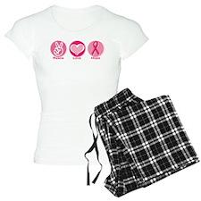 Peace Love Pk Hope Pajamas