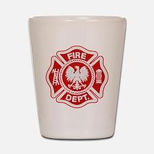 Polish Firemen Shot Glass