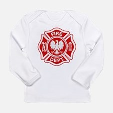 Polish Firemen Long Sleeve Infant T-Shirt