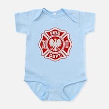 Polish Firemen Infant Bodysuit