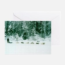 MCK Racing Siberians Greeting Cards (Pk of 10