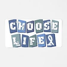 Unique Choose life Aluminum License Plate