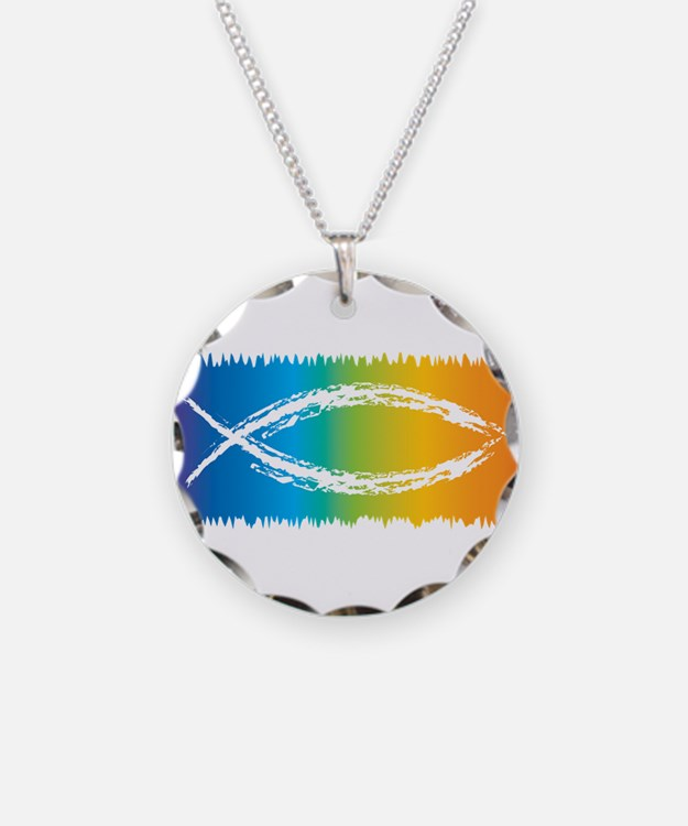 Christian fish jewelry christian fish designs on jewelry for Jesus fish necklace