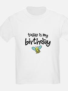 Today is my Birthday Kids T-Shirt