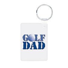 Golf Dad Keychains