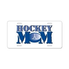 Hockey Mom Aluminum License Plate