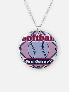Softball Got Game? Necklace