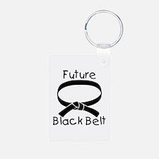 Future Black Belt Keychains