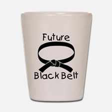Future Black Belt Shot Glass