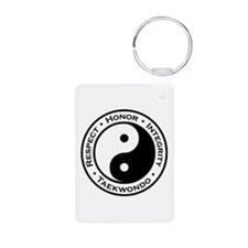 Respect Honor Integrity TKD Keychains