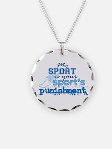 Sport Punishment blue Necklace