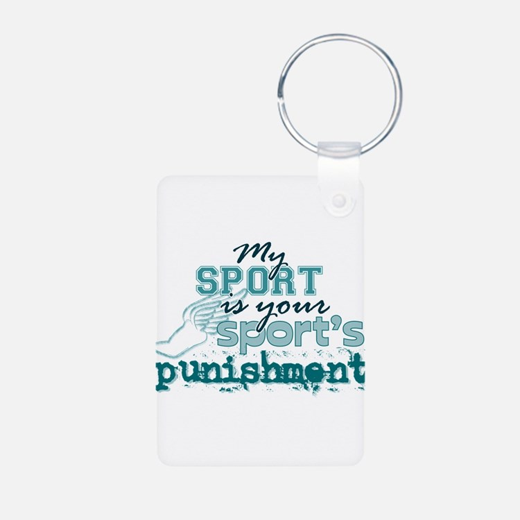 Your sport's punishment Keychains