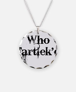 Who Fartlek'd? Necklace