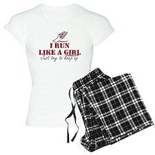 Run like a girl scr Pajamas