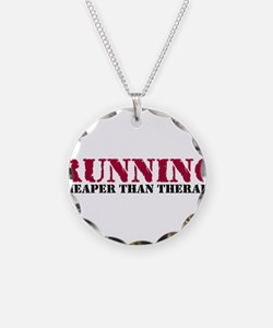 Running therapy red Necklace