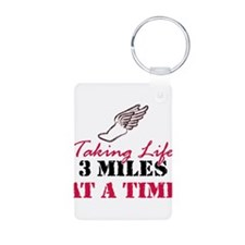 Taking Life 3 miles Keychains