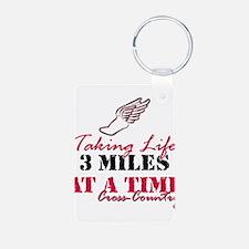 Taking Life 3 miles CC Keychains