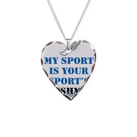 Punishment CC Necklace Heart Charm